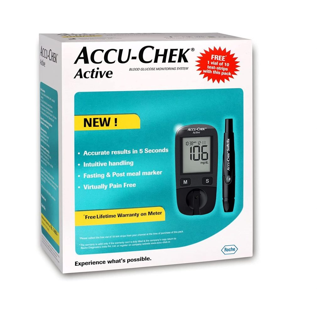 accuchek best glucometer in india